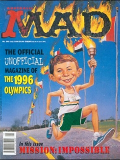 Go to MAD Magazine #345 • Australia