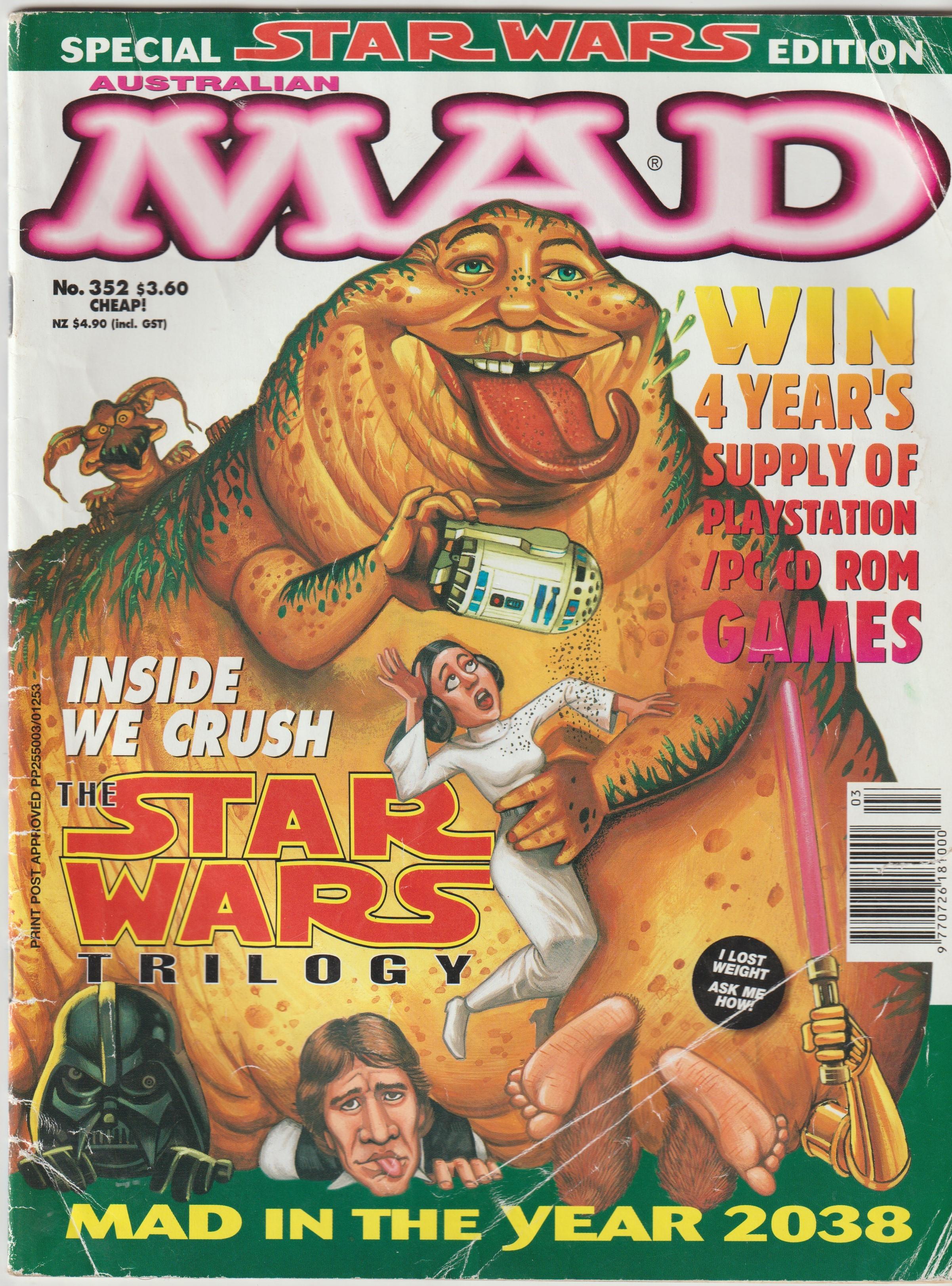 MAD Magazine #352 • Australia