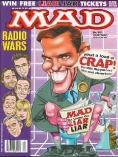 Go to MAD Magazine #353 • Australia