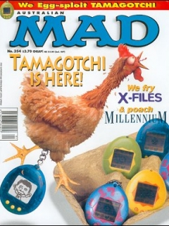 Go to MAD Magazine #354 • Australia