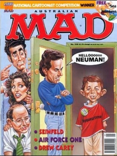 Go to MAD Magazine #358 • Australia