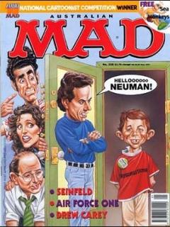 Go to MAD Magazine #358 • Australia