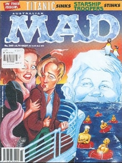 Go to MAD Magazine #360 • Australia