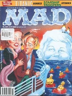 Go to MAD Magazine #360 • Australia