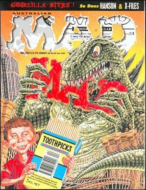 MAD Magazine #361 • Australia