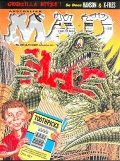 Go to MAD Magazine #361 • Australia