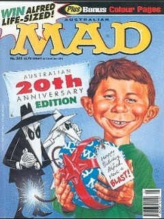 Go to MAD Magazine #362 • Australia