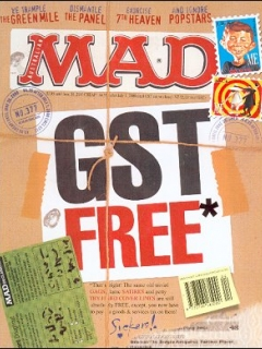 Go to MAD Magazine #377 • Australia