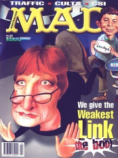 Go to MAD Magazine #385 • Australia