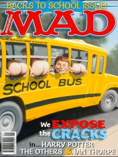 Go to MAD Magazine #390 • Australia