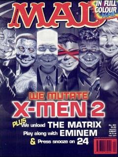 Go to MAD Magazine #401 • Australia