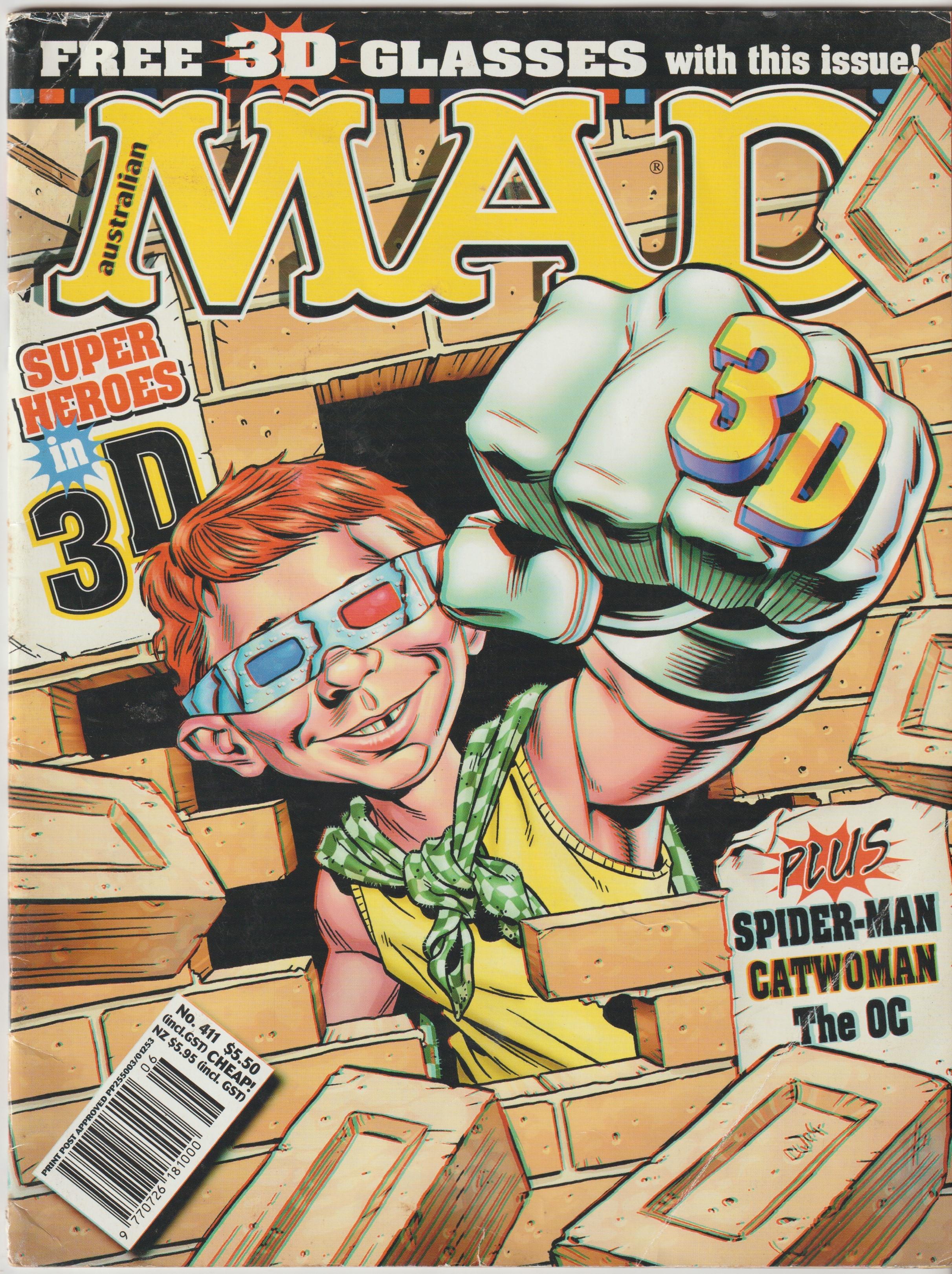 MAD Magazine #411 • Australia