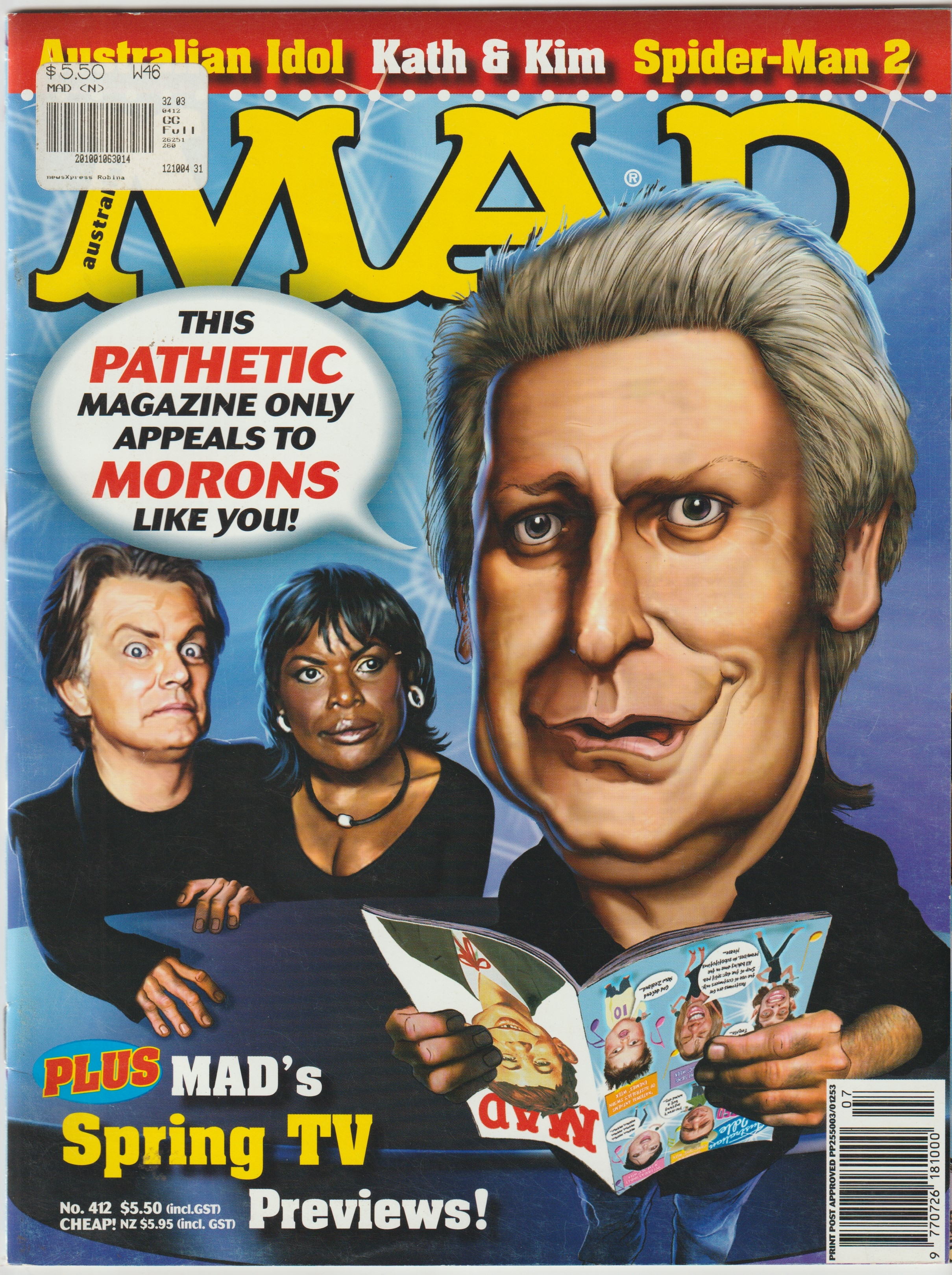MAD Magazine #412 • Australia