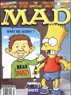 Go to MAD Magazine #416 • Australia