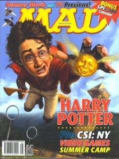 Go to MAD Magazine #421 • Australia