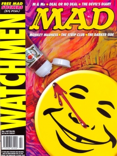 Go to MAD Magazine #447 • Australia