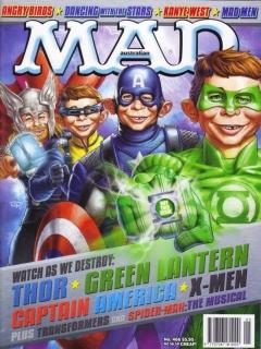Go to MAD Magazine #466 • Australia