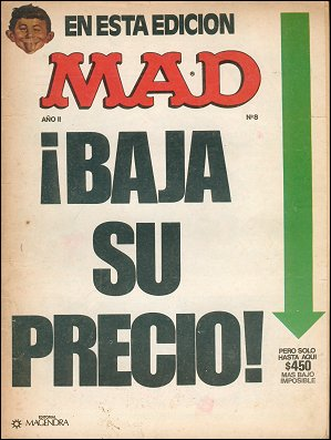 MAD Magazine • Argentina • 1st Edition - Magendra