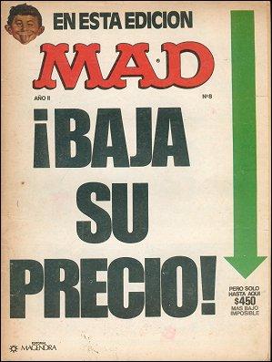 MAD Magazine #8 • Argentina