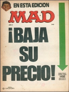 Go to MAD Magazine #8 • Argentina
