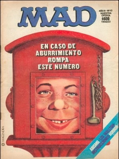 Go to MAD Magazine #10 • Argentina
