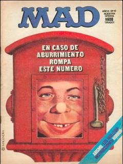 Go to MAD Magazine #10 • Argentina
