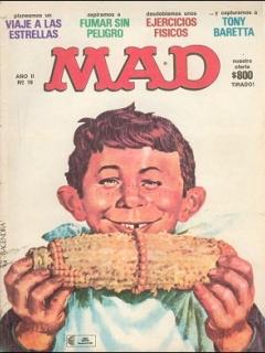 Go to MAD Magazine #18 • Argentina