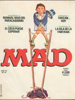 Go to MAD Magazine #27 • Argentina