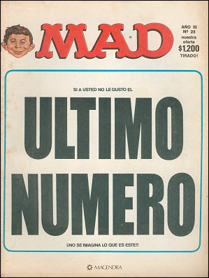 MAD Magazine #28 • Argentina
