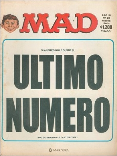 Go to MAD Magazine #28 • Argentina