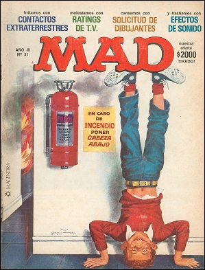 MAD Magazine #31 • Argentina