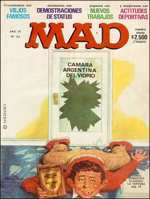 MAD Magazine #33 • Argentina