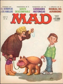 Go to MAD Magazine #35 • Argentina