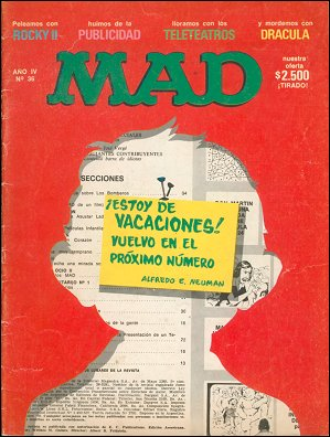 MAD Magazine #36 • Argentina