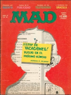 Go to MAD Magazine #36 • Argentina
