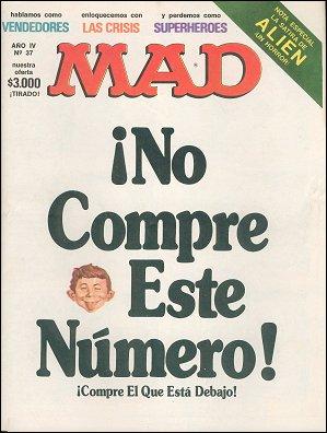 MAD Magazine #37 • Argentina
