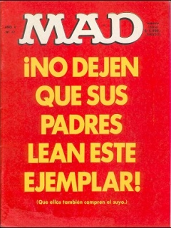 Go to MAD Magazine #47 • Argentina