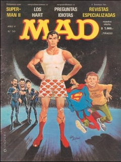 Go to MAD Magazine #50 • Argentina