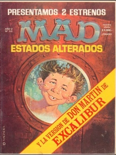 Go to MAD Magazine #53 • Argentina