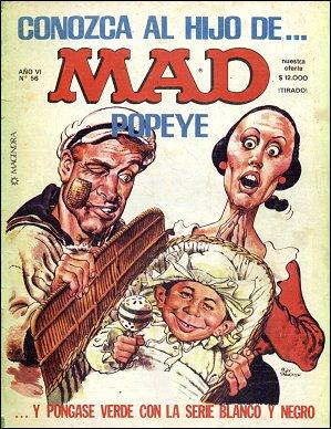 MAD Magazine #56 • Argentina