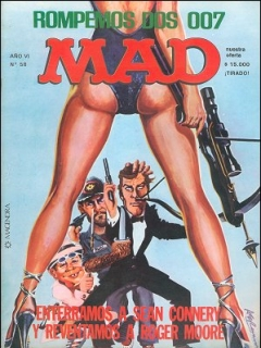 Go to MAD Magazine #58 • Argentina