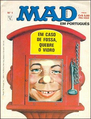 MAD Magazine #1 • Brasil • 1st Edition - Veechi