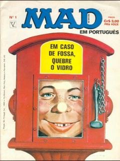 Go to MAD Magazine #1 • Brasil • 1st Edition - Veechi