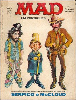 MAD Magazine #2 • Brasil • 1st Edition - Veechi