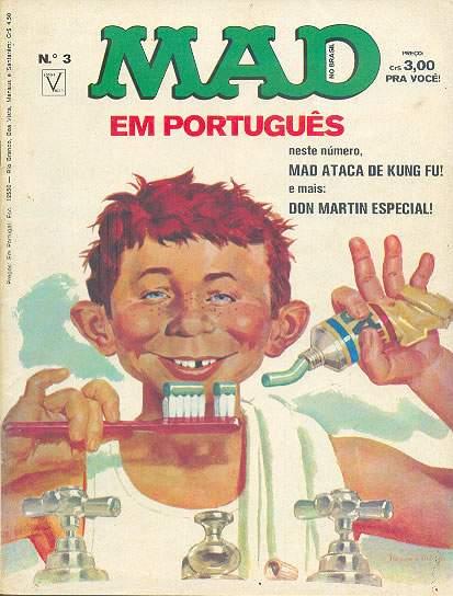 MAD Magazine #3 • Brasil • 1st Edition - Veechi