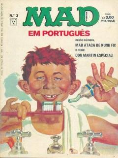 Go to MAD Magazine #3 • Brasil • 1st Edition - Veechi