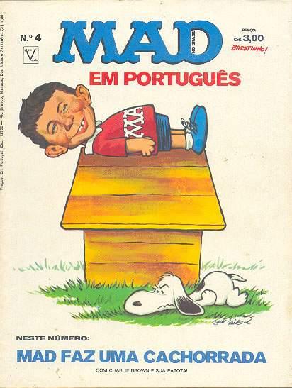 MAD Magazine #4 • Brasil • 1st Edition - Veechi
