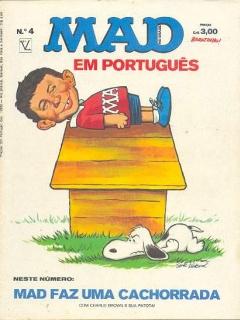 Go to MAD Magazine #4 • Brasil • 1st Edition - Veechi