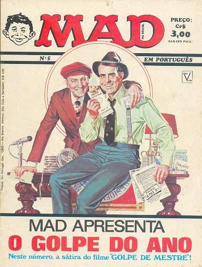 MAD Magazine #5 • Brasil • 1st Edition - Veechi