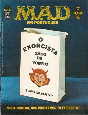MAD Magazine #6 • Brasil • 1st Edition - Veechi